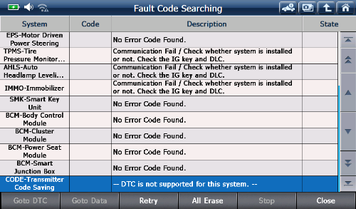 fault code searching by FCS (2)