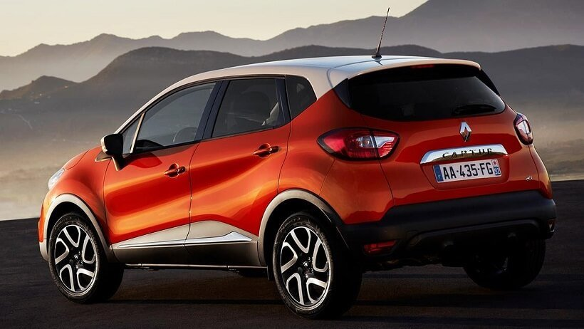 2015_Renault_Captur_Rear